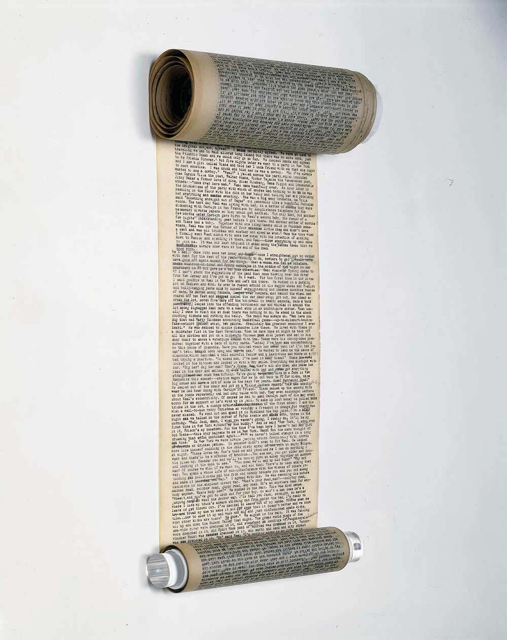 On The Road Jack Kerouac's scroll