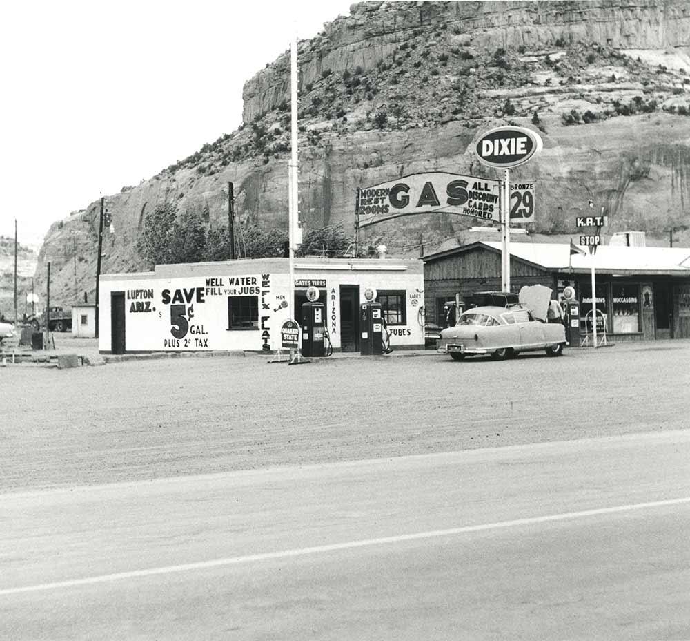 Gas station 1962