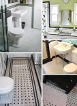 black-and-white-tile-bathrooms