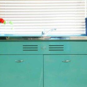 vents in kitchen sink base