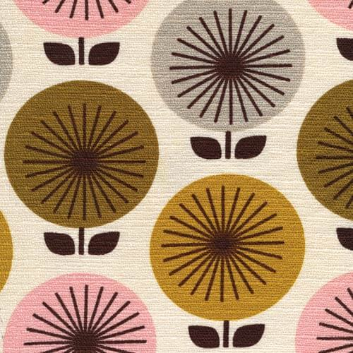 4 Cheery New Barkcloth Patterns In 8 Color Ways Coming