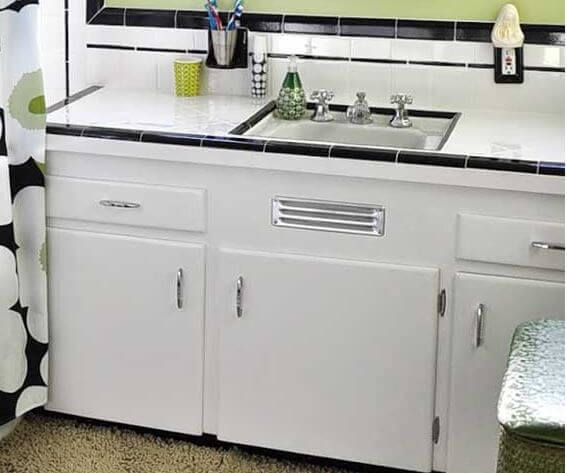 Where to buy a metal vent grille for a sink base cabinet ...