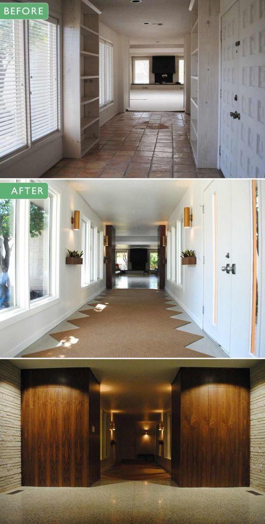 Midcentury-modern-hallway