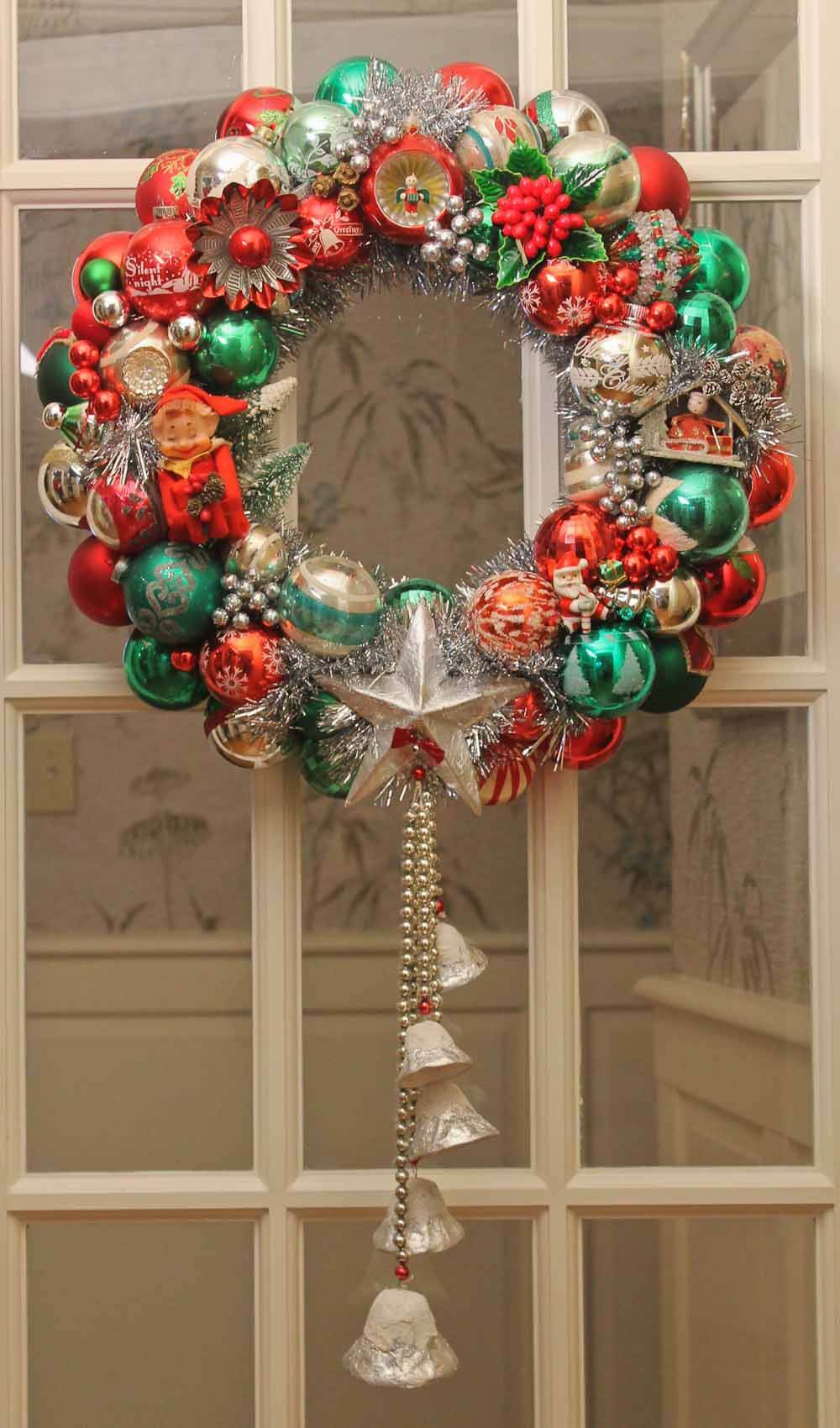 100 photos of diy christmas ornament wreaths upload Making wreaths