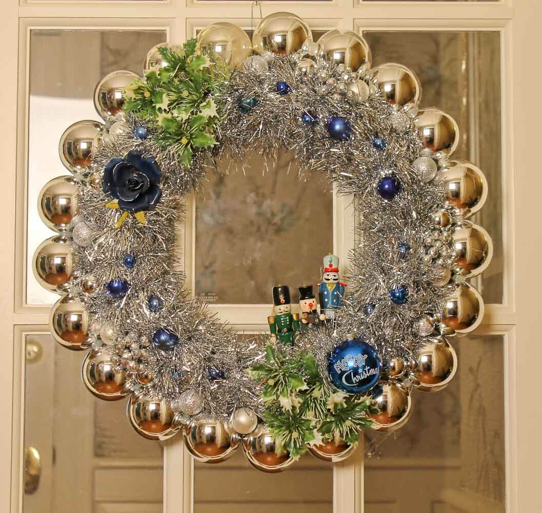 Quick, Affordable And Foolproof Christmas Ornament Wreaths