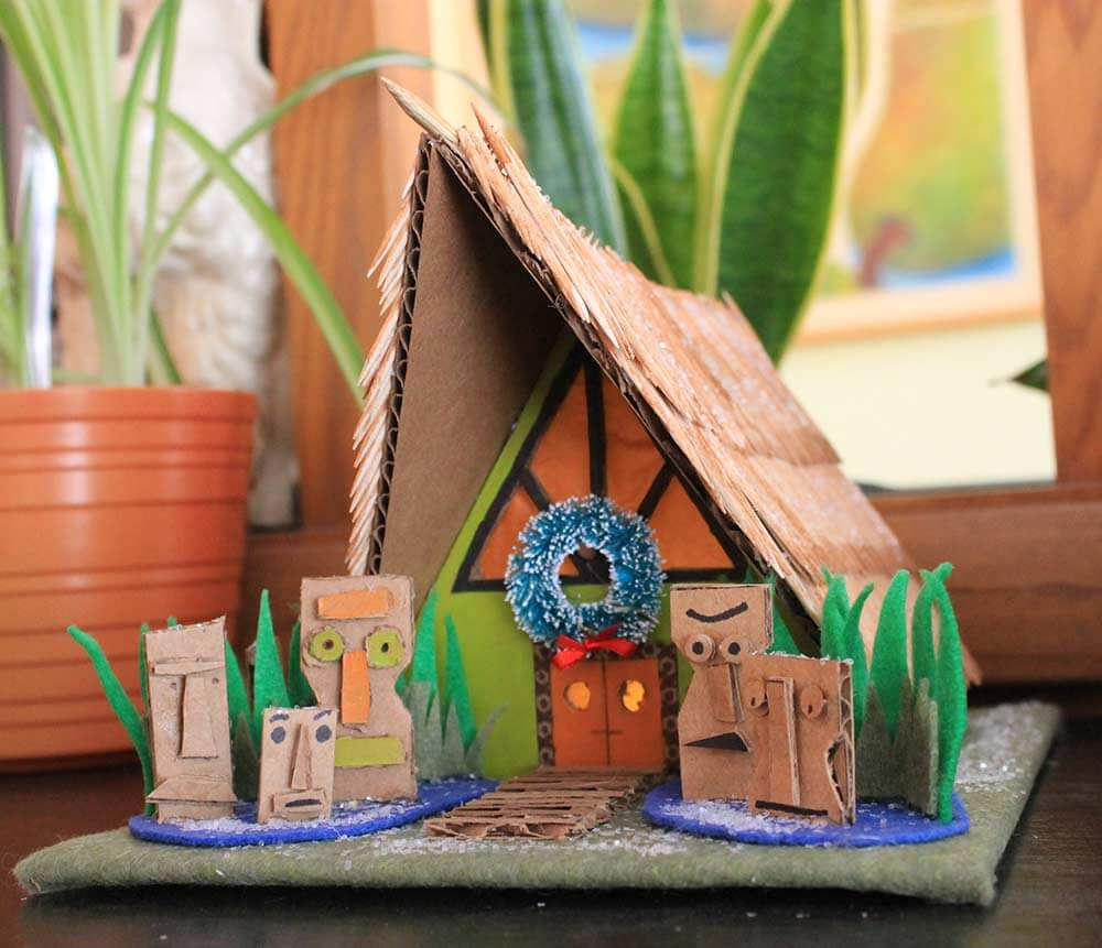 tiki putz house pattern