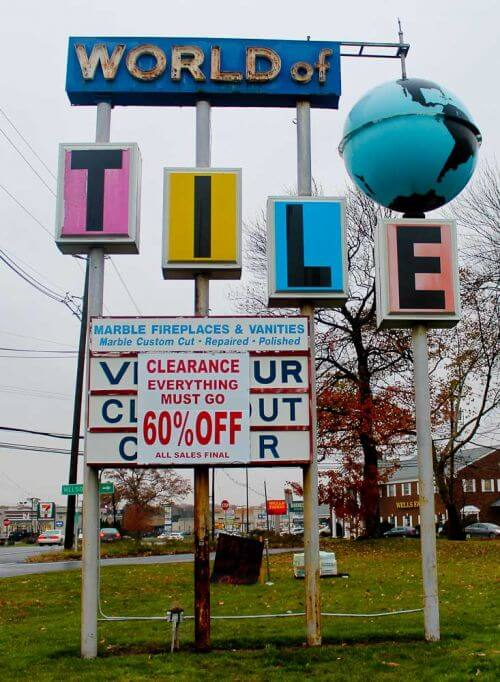 world of tile closing information