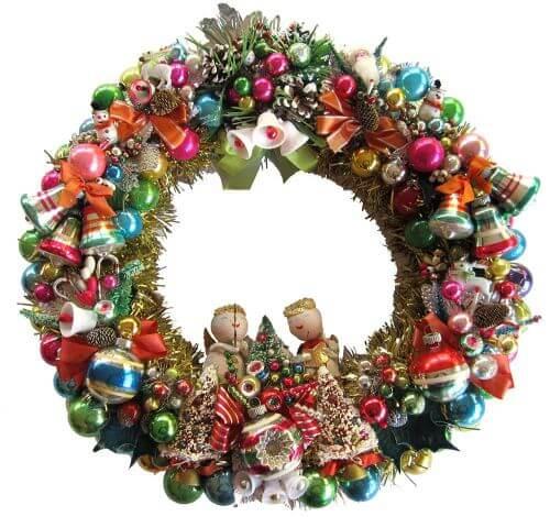 Corsage-wreath