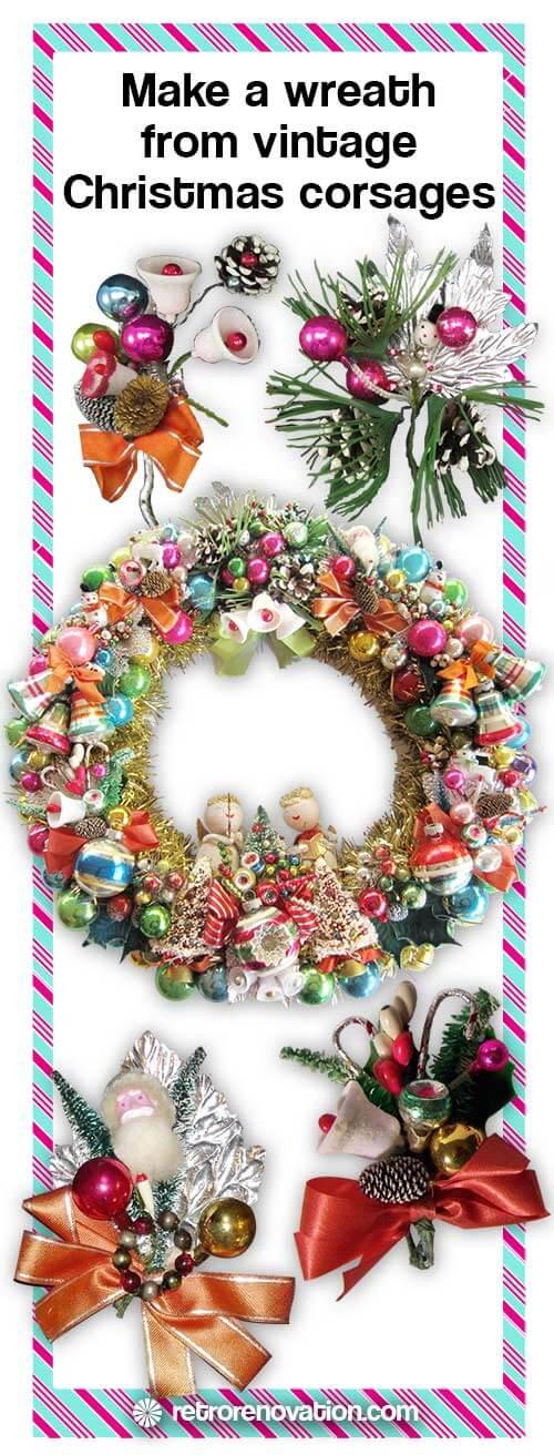 Vintage-Corsage-Wreath
