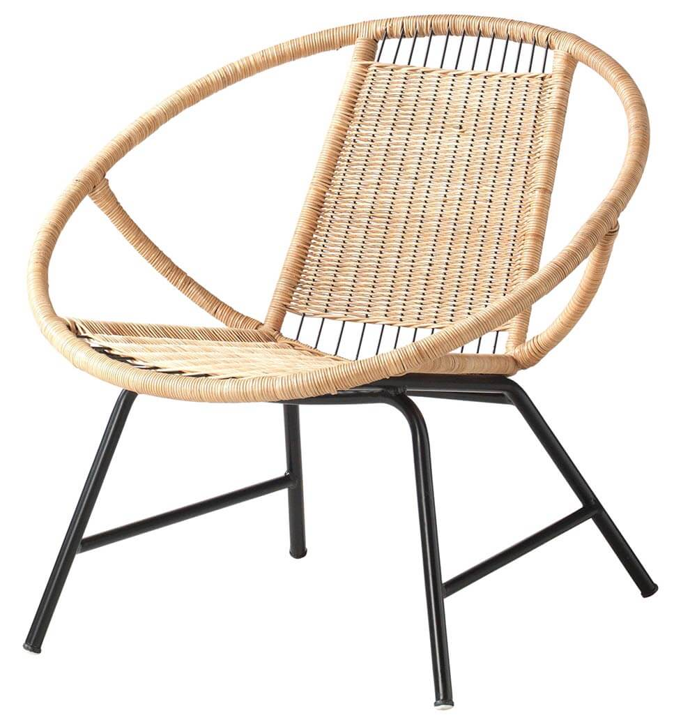 Midcentury Hoop Chair