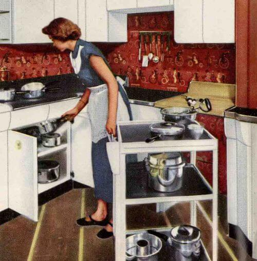 u201cpostwar u201d design really is split into two periods six kitchen designs from 1953   avco american kitchens   retro      rh   retrorenovation com