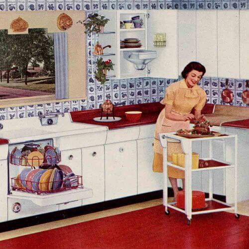 raymond loewy kitchen
