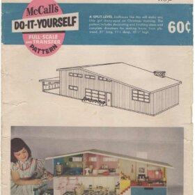 Midcentury Dollhouse betsy mc call