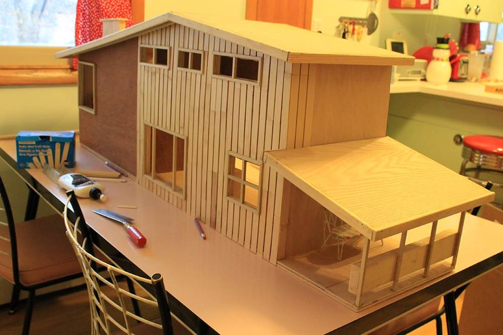 7 Steps And 70 Hours For Kate S Diy Dollhouse From Scratch
