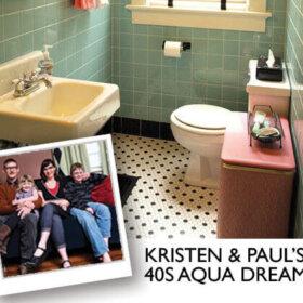award winning retro bathroom design