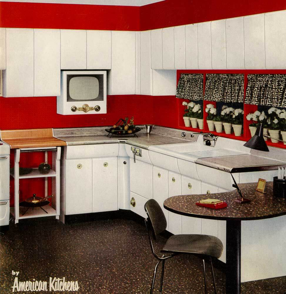 Six Kitchen Designs From 1953
