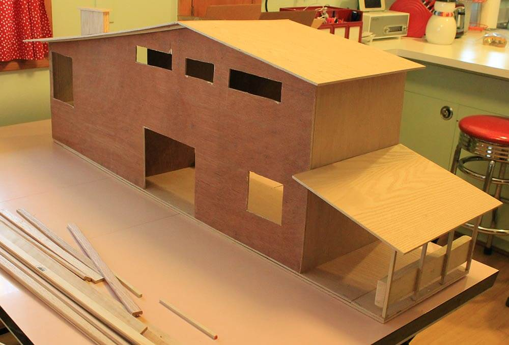 7 steps and 70 hours for kate 39 s diy dollhouse from for Steps to building a new home