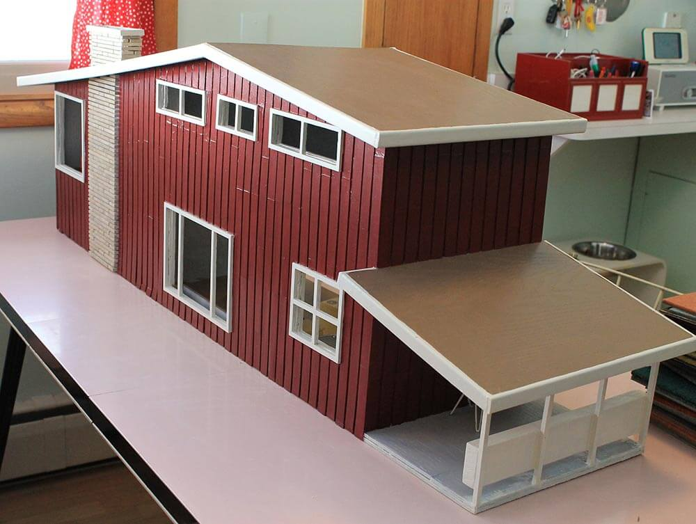 7 steps and 70 hours for Kates DIY dollhouse from scratch