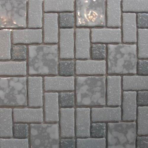 retro bathroom floor tile