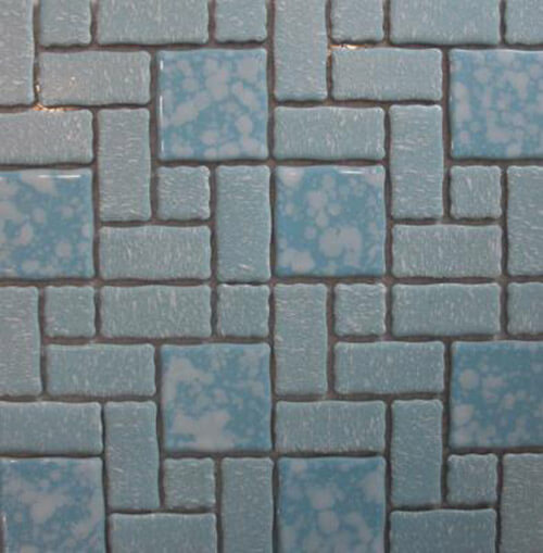 mosaic tiled bathroom vintage mosaic tile tile design ideas 13772