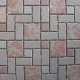 retro bathroom floor tile