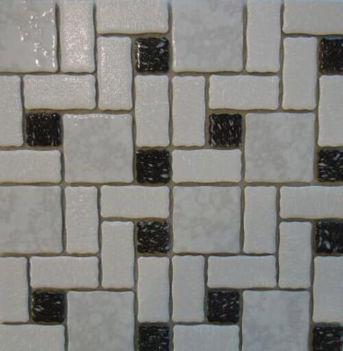 15 New Mosaic Floor Tile Designs For A Retro Vintage Style Bathroom