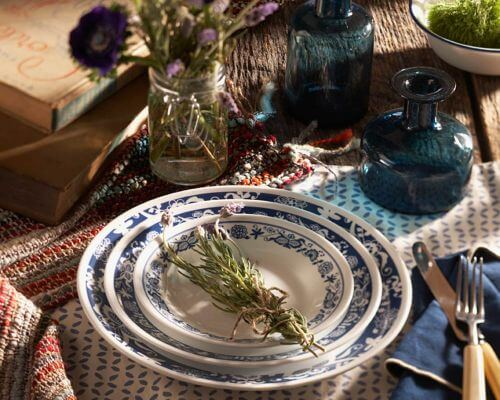 Corelle True Blue pattern