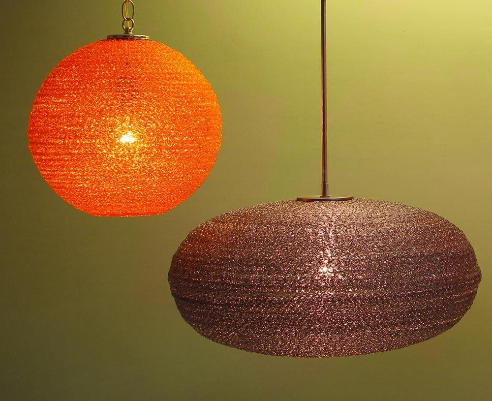 A colorful galaxy of spaghetti lights 2 shapes 4 colors 5 sizes retro acrylic spaghetti light aloadofball Gallery