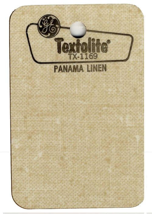 linen laminate retro