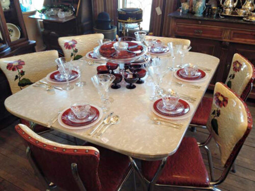 vintage dinette set