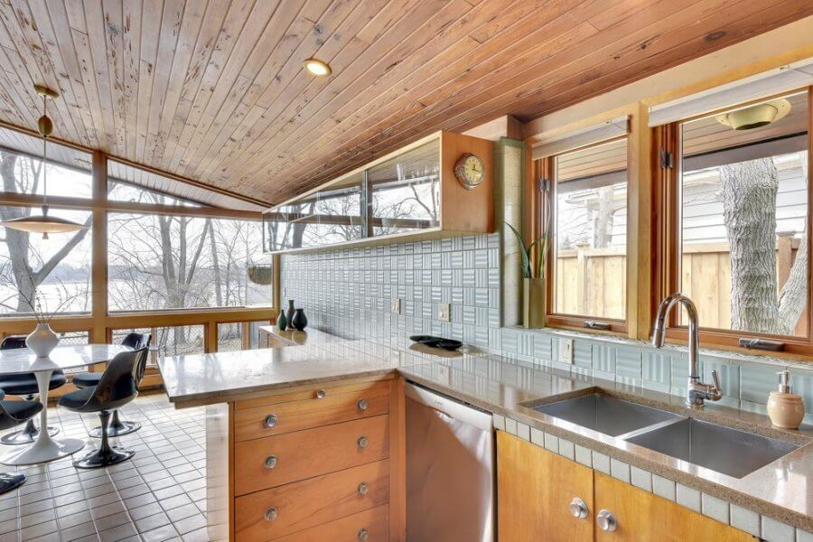 Midcentury Masterpiece 1955 Time Capsule Quot Tile House Quot In Minneapolis Every Room Full Of