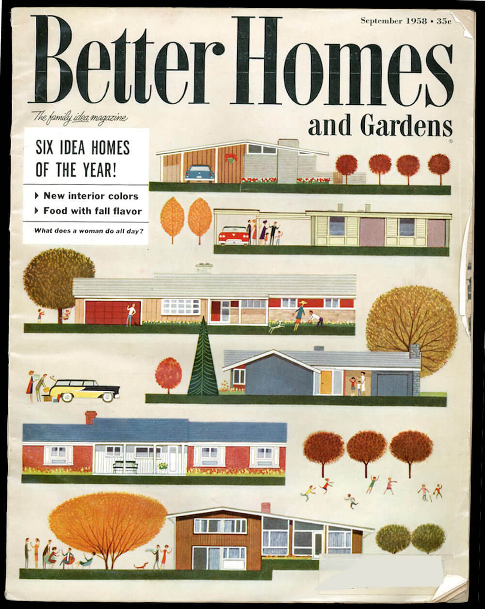 Better homes gardens 39 1958 idea house of the year 39 by Better homes and gardens current issue