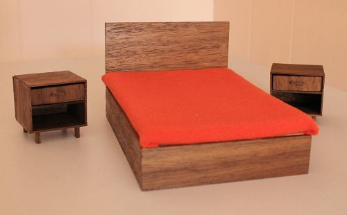 midcentury dollhouse furniture