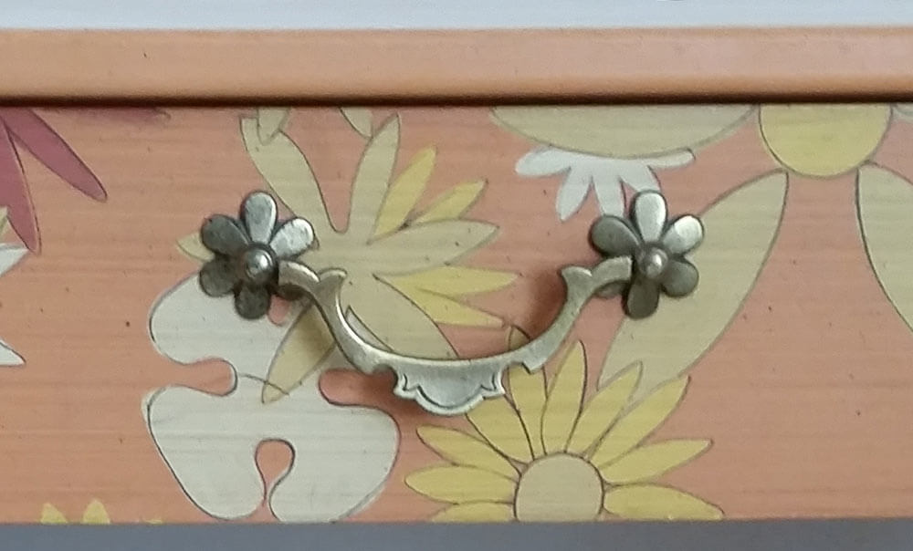 whimsical drawer pulls - chest of drawers