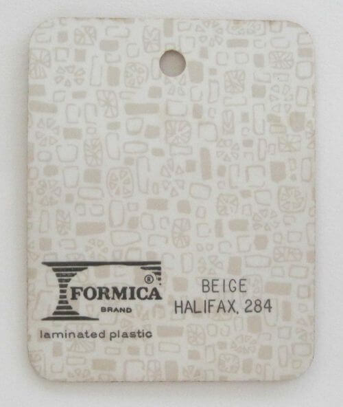 vintage formica laminate sample
