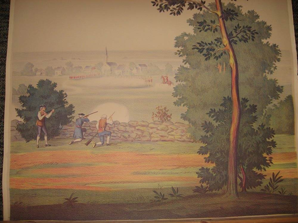 Full room vintage wallpaper murals by the schmitz horning for Antique mural wallpaper