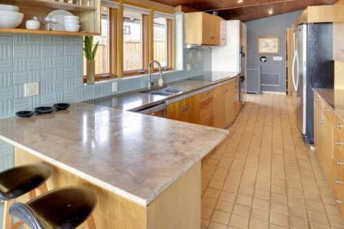 ... 1955 Midcentury Modern Kitchen