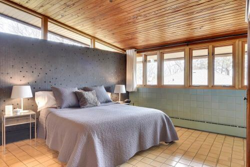 1955 midcentury modern time bedroom