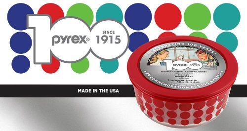 pyrex 100 anniversary