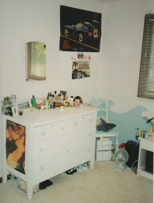 bedroom from the 90s