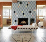 "Midcentury masterpiece 1955 time capsule ""tile house"" in Minneapolis — every room full of exquisite tile designs — 69 photos"