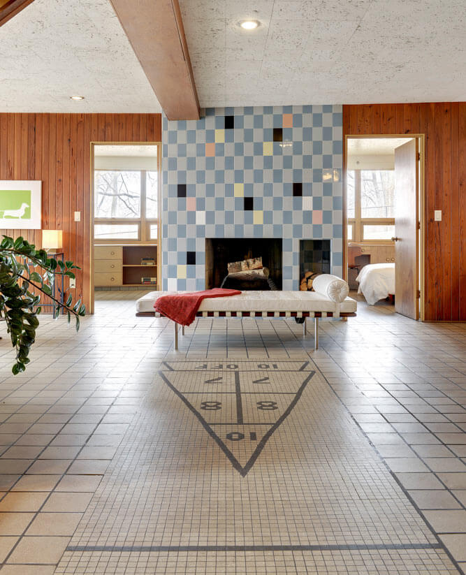 Midcentury Masterpiece 1955 Time Capsule Tile House In