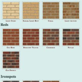 colors of bricks