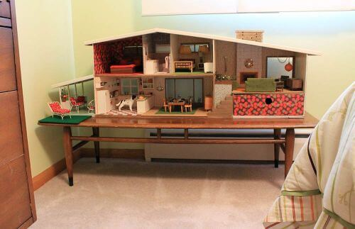 dollhouse warming party: kate's 1955 betsy mccall diy dollhouse tour