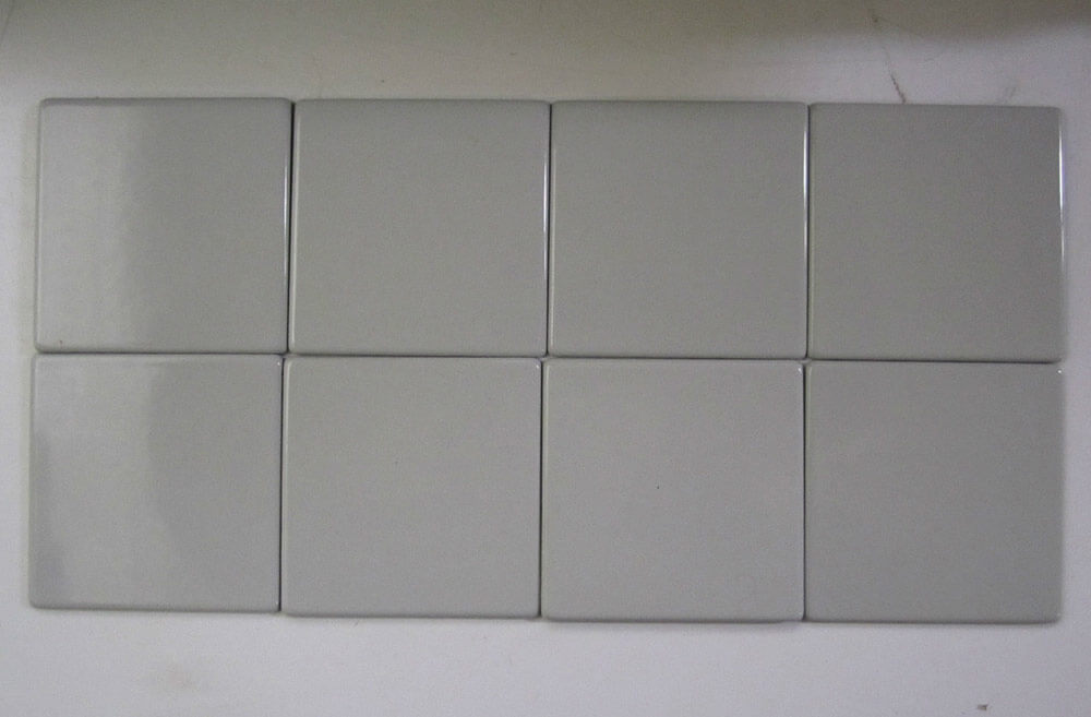 Vintage Veos Steel Tiles With Porcelain Ceramic Finish Retro - 4x4 grey ceramic tile