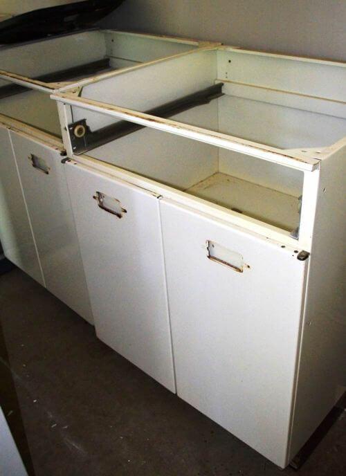 vintage steel kitchen cabinets