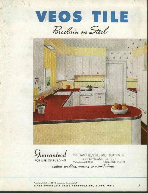 vintage Veos Tile brochure