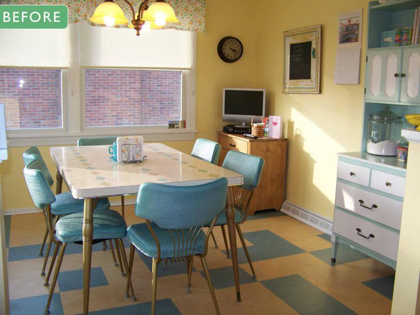 vintage kitchen dinette