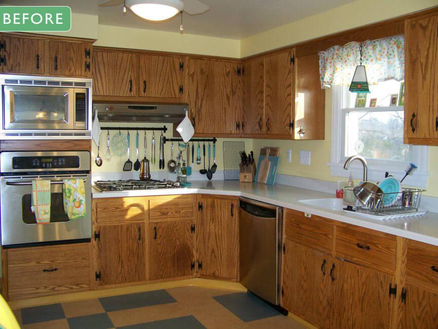 Retro Kitchen Before