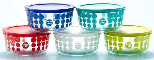 pyrex 100th anniversary line